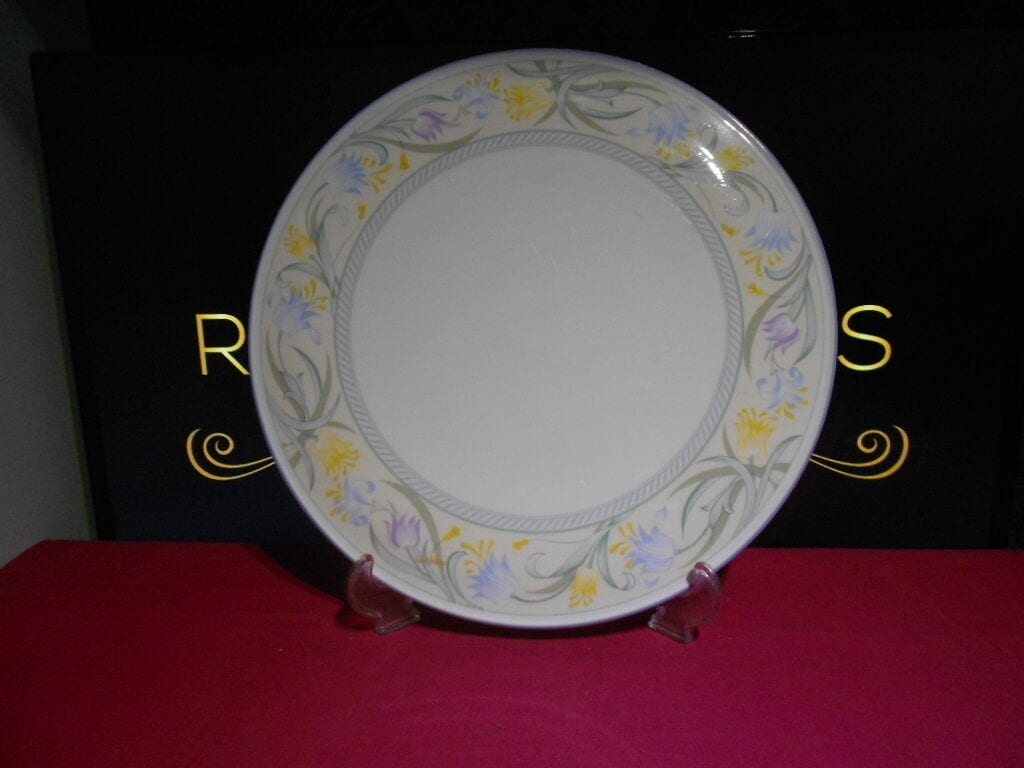 Royal Worcester ... & Royal Worcester Cake Stand 1988 Summerfield - No1 Replacements - For ...